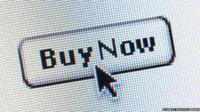 Buy now button on a computer
