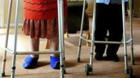 Residents of a care home