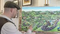 The Tour de France painting