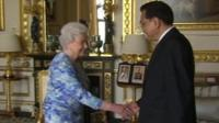 Queen meets Chinese PM