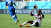 World Cup 2014: Costa Rica denied penalty against Italy