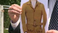 An image of a 'distinctive jacket' was shown off by police