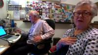 Peter Greste's parents, Lois and Juris,