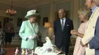 The Queen and Duke of Edinburgh at Hillsborough Castle