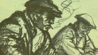 Norman Cornish sketch