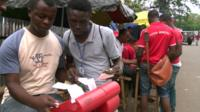 Machines used for sports betting in Sierra Leone
