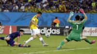 Colombia's James Rodriguez