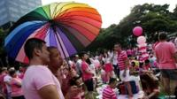 Pink Dot gay rights rally