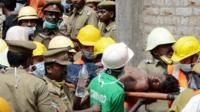 Man pulled from India rubble