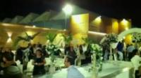 Guests at a wedding reception in Holon
