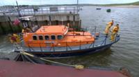Amble RNLI's current lifeboat