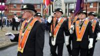 Orangemen 12th July celebrations
