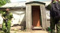 Shelled house
