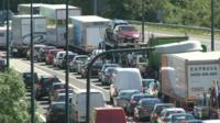 Congestion on the M4