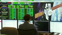 Satellite tracking room