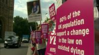 Campaigners for assisted dying