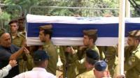 Israeli soldier funeral