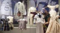 Outfits worn by royal children
