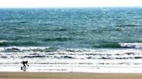 A beach in Cornwall