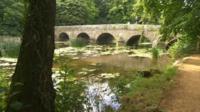 River at Blandford