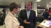 Dixons Carphone CEO Sebastian James unveils a new store