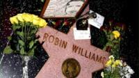 Robin Williams' star on the Hollywood walk of fame
