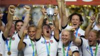 Women's Rugby World Cup: England react to final win over Canada