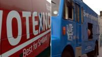 Campaign buses