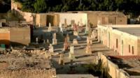 Cemetery in Cairo