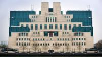 Secret Intelligence Service building in Vauxhall, London