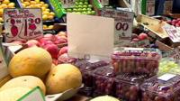fruit & vegetable stall