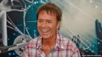 Sir Cliff Richard visiting Radio Kiss FM Portugal
