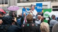 Jim Murphy in Kirkcaldy