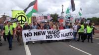 Nato march