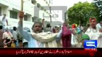 Anti-government protesters storm PTV headquarters