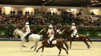 Horseball match in Caen, France