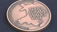 Nato summit coin