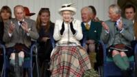 The Queen and Royal Family at Braemar