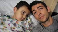 Ashya King with his brother Naveed
