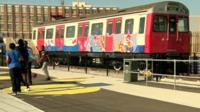 Tube train at University Technical College