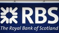 Royal Bank of Scotland sign