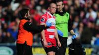 Concussion test for Mike Tindall