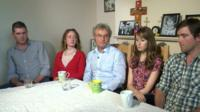 Family of Ann Maguire talk about her death