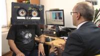 Cassette Boy talking to Clive Coleman