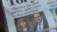 Tory MP Brooks Newmark was one of several Tories targeted by the Sunday Mirror