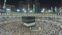 Crowds at the Hajj