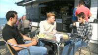 Aberystwyth students