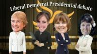 Liberal Democrat presidential debate