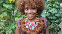 Nigerian singer Omawumi