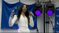 Conchita Wurst in Brussels